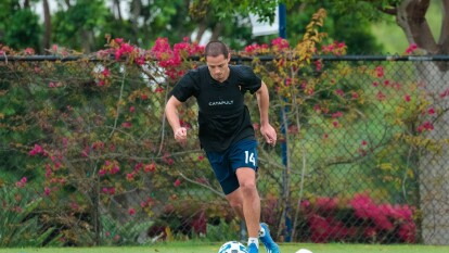 'Chicharito' y LA Galaxy ya reanudaron entrenamientos | Javier Hernández y el resto de la plantilla angelina volvieron a tener actividad en las instalaciones deportivas del club. | Los entrenamientos se reanudaron tras la suspensión en la MLS por el coronavirus.