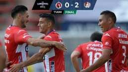 Con golazo de Nico Ibáñez San Luis vence a Xolos