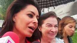 Acompañada de la exesposa, Yadhira Carrillo visitó en la cárcel a su esposo Juan Collado