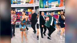 Conductores de Hoy sacan a relucir sus mejores pasos de baile al ritmo de 'Sexy Back'