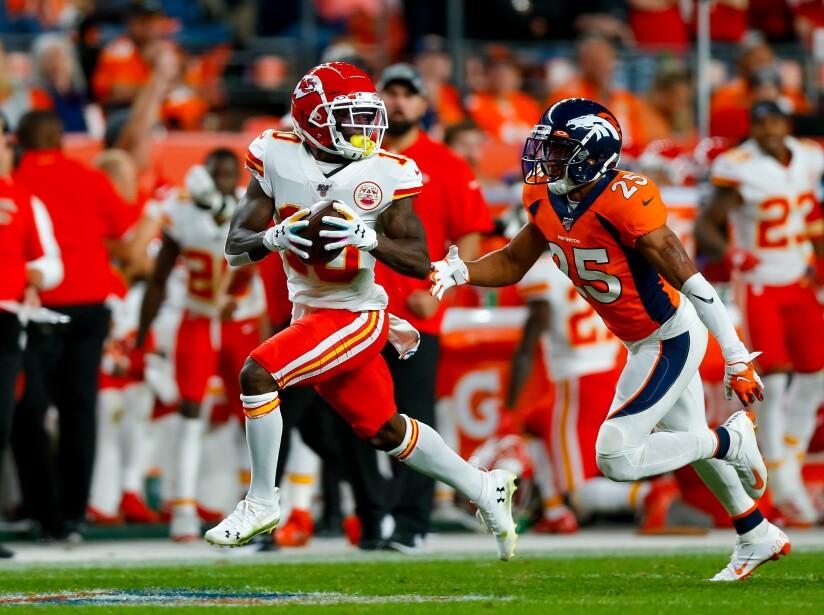 Denver Broncos 6-30 Kansas City Chiefs