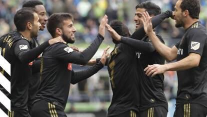 LAFC y Seattle Sounders se han enfrentado en cuatro ocasiones, el equipo de Vela ganó tres y empató uno.