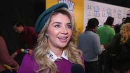 Daniela Luján recuerda las travesuras en las grabaciones de El diario de Daniela