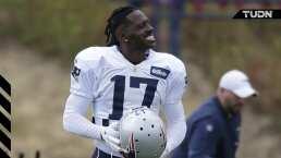 Antonio Brown agradece poder jugar con Tom Brady