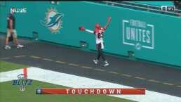 ¡Agárrenlo! Tyler Boyd se escapa 72 yardas para el touchdown