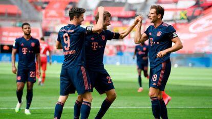 Bayern Munich aplastó al Leverkusen en la J30 de la Bundesliga | Los pupilos de Flick Hans-Dieter apalearon 2-4 a la escuadra local que se desinfló muy pronto en el partido.