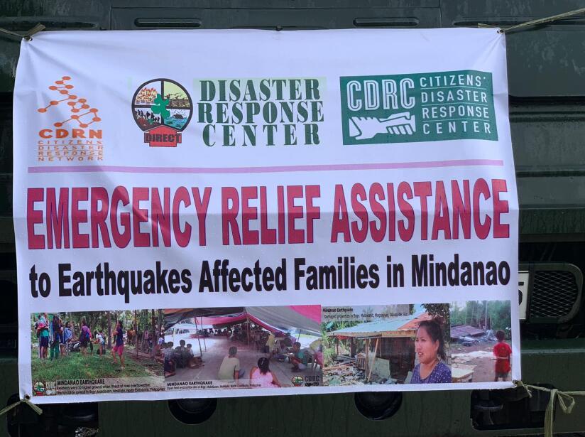 El ídolo del boxeo se unió a las labores de ayuda tras los sismos de los últimos días en su país.