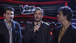 Reik apoyo a los nuevos talentos de La Voz… México