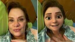 Erika Buenfil se transforma en personaje de Pixar la nueva sensación de TikTok