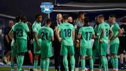 Iván Zamorano y Luis Omar Tapia juegan a ser DT del Real Madrid