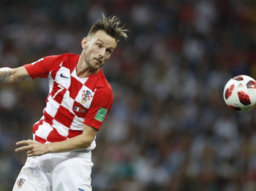Russia Soccer WCup France Croatia
