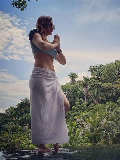Sherlyn sorprendió al confesar en entrevista con Univision que a casi cuatro meses de haber dado a luz está unos cuantos kilos abajo que antes de embarazarse; el secreto, dijo, la lactancia exclusiva.