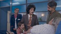 Lorenza bebé a bordo: Lorenza y Emiliano se disfrazan para visitar a Chayo