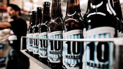 Existe una cerveza en honor a Diego Armando Maradona, que es de procedencia mexicana, llamada '10 Maradó'.