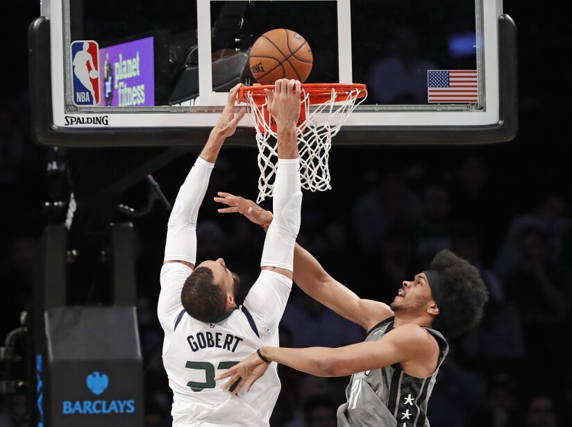 Brooklyn Nets 107-118 Utah Jazz