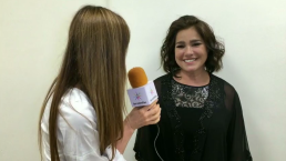 Gabriela Roel habla sobre su trabajo en Hoy voy a cambiar