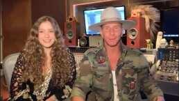 Mía y Erik Rubín confiesan si hubo tensión al trabajar en familia para este proyecto musical