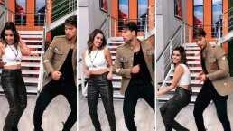 """Andrea Escalona y Emmanuel Palomares bailan juntos y sacan chispas en Hoy: """"¡Wow! hacen bonita pareja"""""""