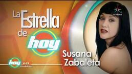 LA ESTRELLA DE HOY: Susana Zabaleta