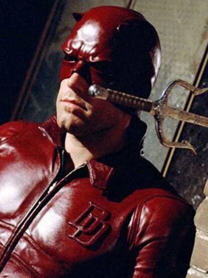 Para celebrar el cumpleaños #46 de Ben Affleck, te presentamos sus peores personajes, comenzando con 'Matt Murdock' en 'Daredevil' (2003)
