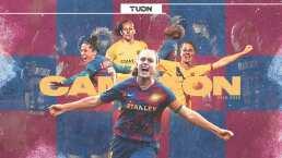 ¡Campeona! Pamela Tajonar gana título de liga con Barcelona
