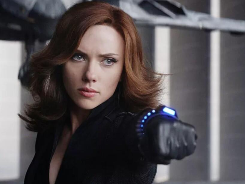 Black Widow en The Avengers