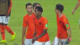 Países Bajos 4-0 Estados Unidos - Goles - Mundial Sub-17