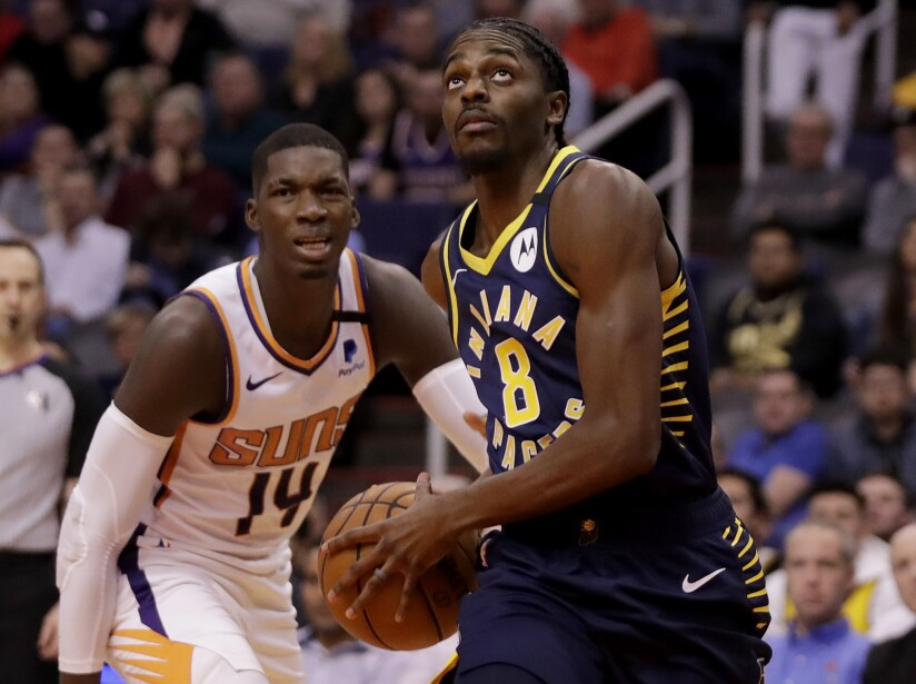 Pacers Suns Basketball