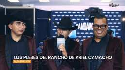 Los Plebes del Rancho hacen homenaje a Ariel Camacho con tema