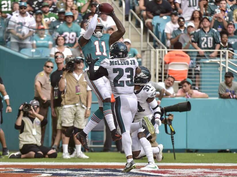 Philadelphia Eagles vMiami Dolphins