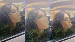 Galilea Montijo no se siente vieja para hacer tiktoks y prefiere dañar su maquillaje con tal de hacer reír