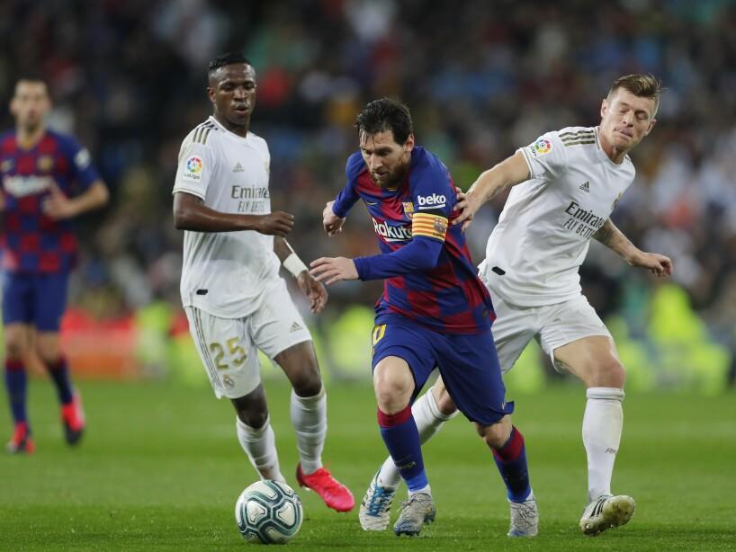 Lionel Messi, Vinicius Junior, Toni Kroos
