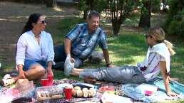 Así Somos: 'Los Jonas Vloggers' disfrutan de un 'picnic' en compañía de sus familias