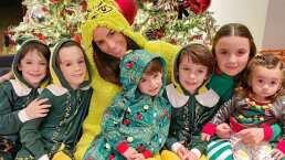 Hijos de Inés Gómez Mont confunden a su papá con Santa Claus