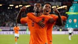 Holanda le pega a Alemania rumbo a la Euro
