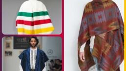 Moda: Ponchos para hombre y para mujer ¡Atrévete a usarlos!