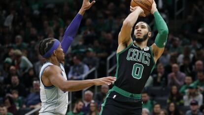 Tatum aportó 39 puntos para que los de Boston salieran con la victoria del TD Garden; además, todos los resultados de la NBA del 22 de diciembre de 2019. Boston Celtics 119-93 Charlotte Hornets
