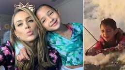 Jackita, hija de Jacky Bracamontes, agrega el bodysurfing a su lista de deportes aprendidos