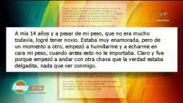 """Confesiones de Hoy: """"Sufro bullying por mi obesidad"""""""