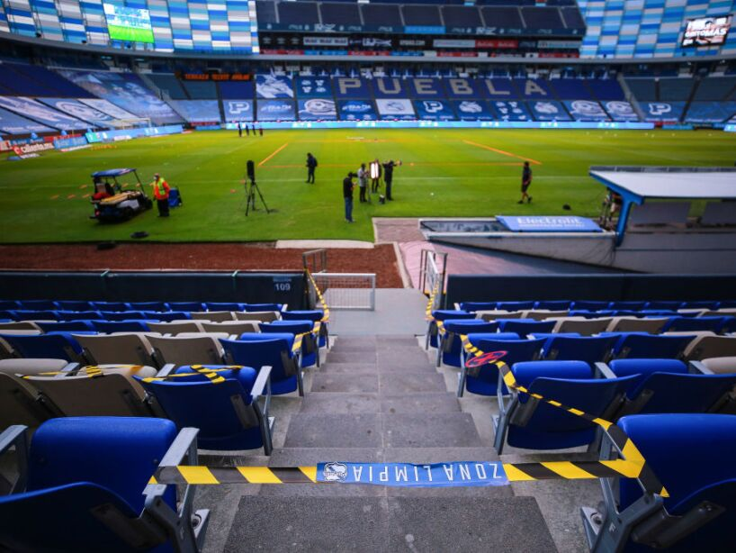Puebla FC v Cruz Azul - Torneo Guard1anes 2020 Liga MX