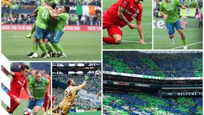 Los Sounders vencen al Toronto 3-1 , con goles de Leerdam, Rodríguez y Ruidíaz; Altidore para el Toronto FC.