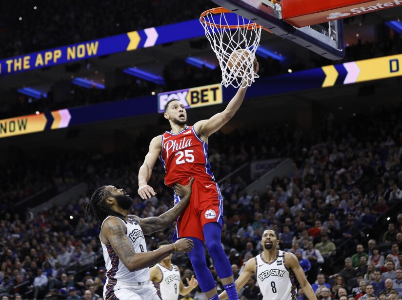 Philadelphia 76ers 117-106 Brooklyn Nets