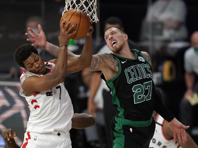APTOPIX Celtics Raptors Basketball
