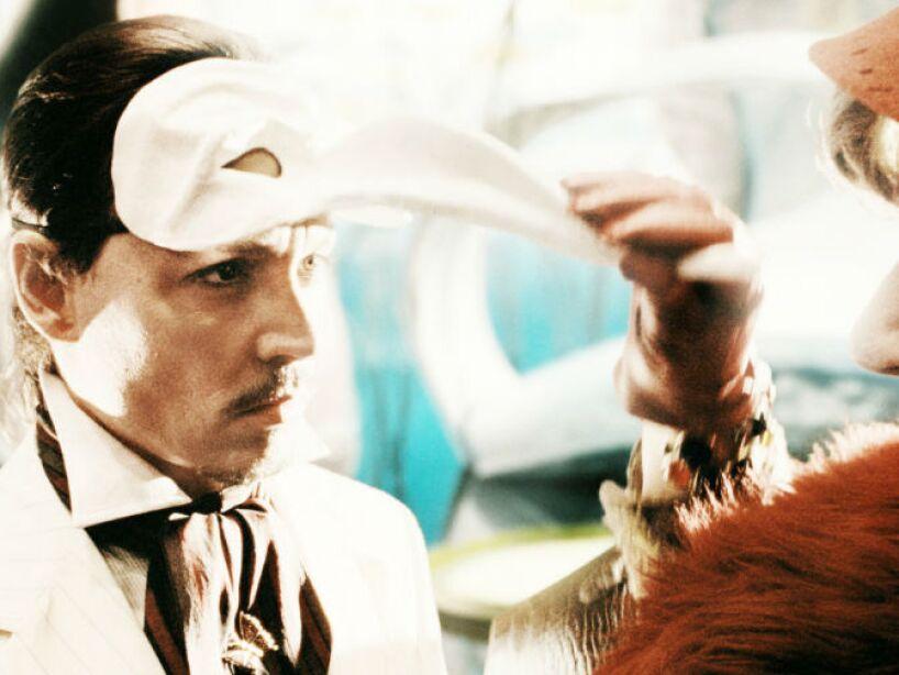 7. The Imaginarium of Doctor Parnassus (2009): Johnny protagoniza esta peli que resultó ser un show de magia por parte de una compañía de teatro.