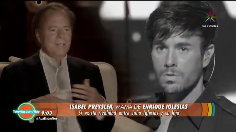 Sí hay rivalidad entre Enrique y Julio Iglesias ¡Entérate!