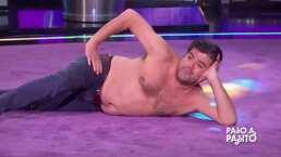 """Jorge 'El Burro' Van Rankin protagoniza candente baile y casi enseña de más: """"Hay sensualidad"""""""