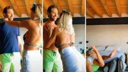 Sebastián Rulli comparte las habilidades de Angelique Boyer para desnudarlo