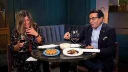 A Martha Figueroa le dio un ataque de risa tan grande que hasta escupió su vino en 'Con Permiso'