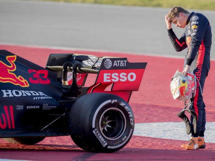APTOPIX Spain F1 Pre-Season Testing