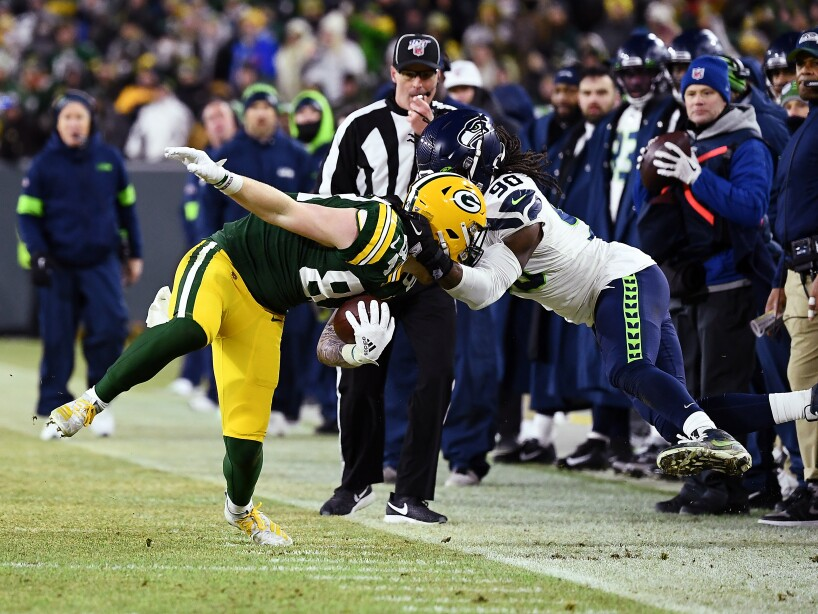 Divisional Round - Seattle Seahawks v Green Bay Packers